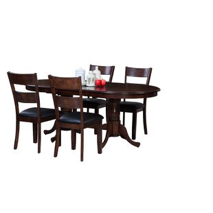 Doretha 5 Piece Breakfast Nook Dining Set