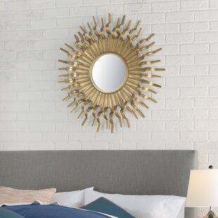 gold sunburst mirror. Gold Sunburst Mirror