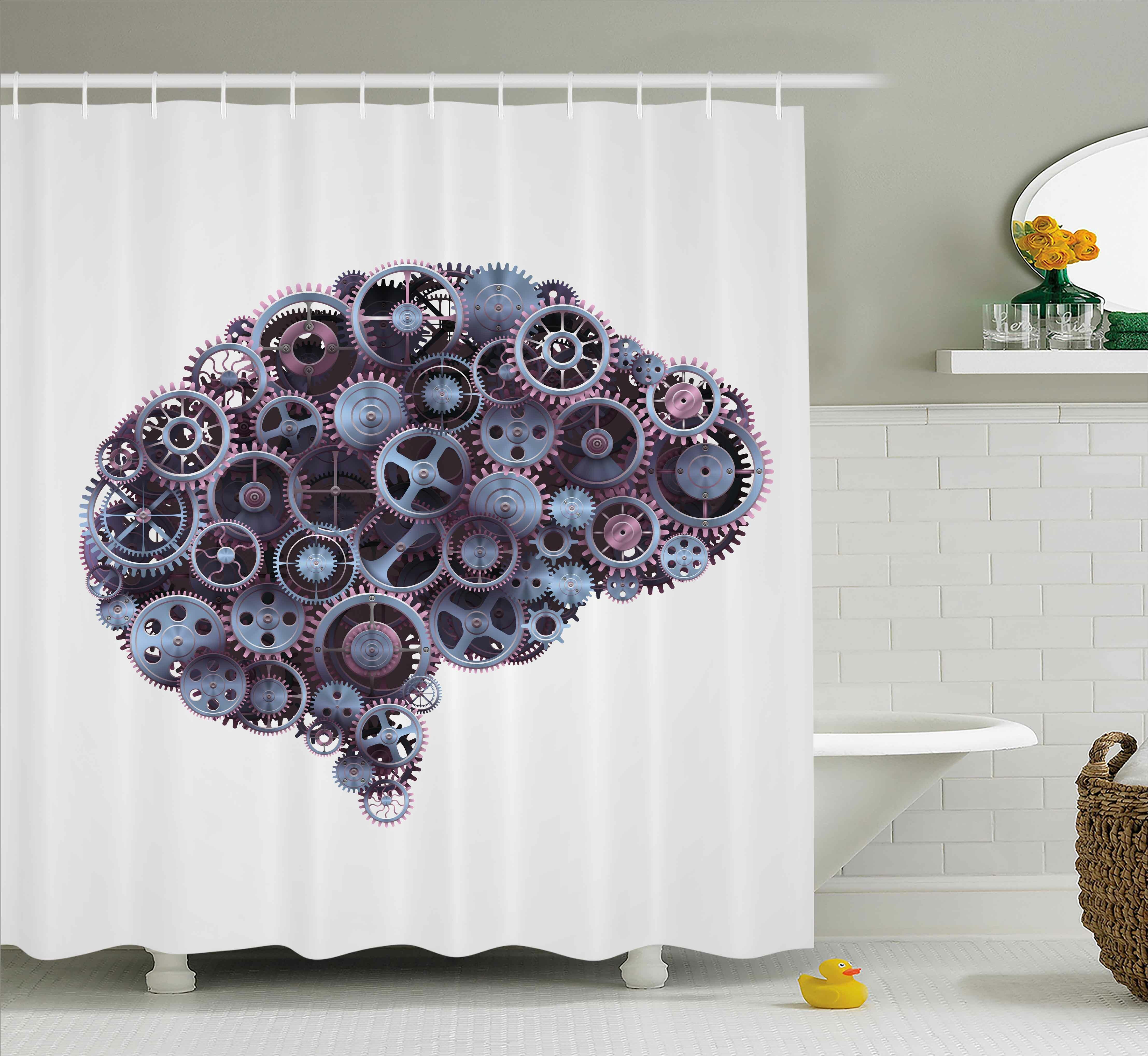 East Urban Home Industrial Decor Shower Curtain
