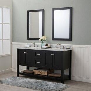 60 Inch Bathroom Vanity. Save Darby Home Co Whiting 60 Double Bathroom Vanity Set