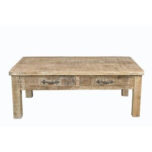 Cummings Square Coffee Table by Loon Peak