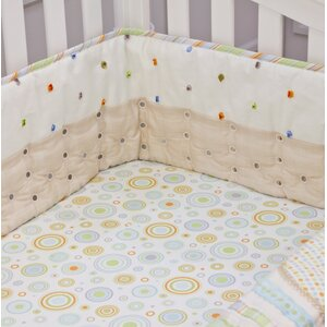Imagination Twill Airflow Crib Safety Bumpers