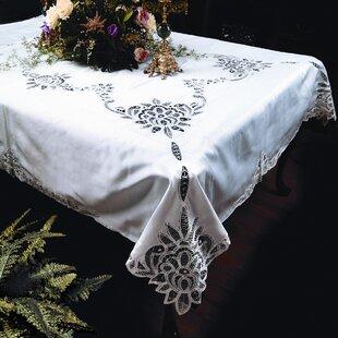 Washable Lace Tablecloth | Wayfair