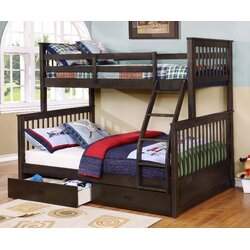 Bunk Bed Pictures Wildon Home ® Walter Twin Over Full Bunk Bed & Reviews  Wayfair