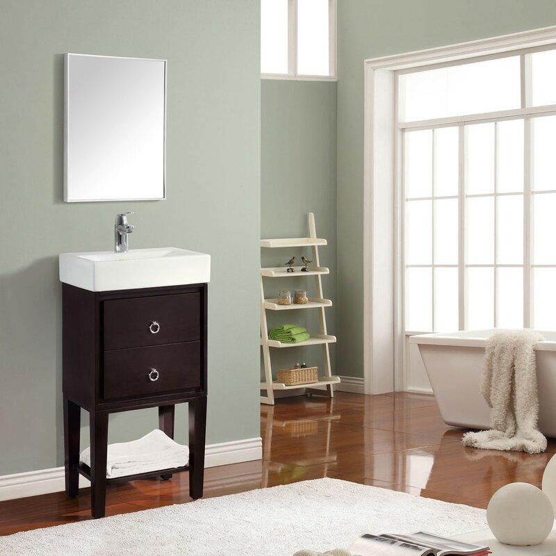 Bathroom Lighting Kent avanity kent bathroom framed mirror & reviews | wayfair