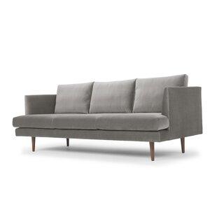 Dark Blue Velvet Sofa Wayfair Ca