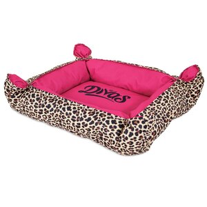 Ohara Divas Pinch Corner Bolster Dog Bed