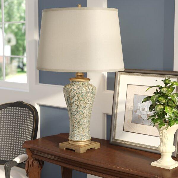 Astoria Grand Surfwood Clic Ginger Jar 35 Table Lamp Reviews Wayfair
