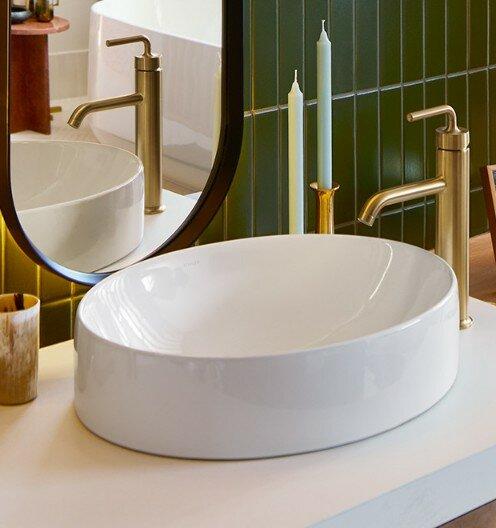 K 99183 0 Kohler Vox Vitreous China Oval Vessel Bathroom