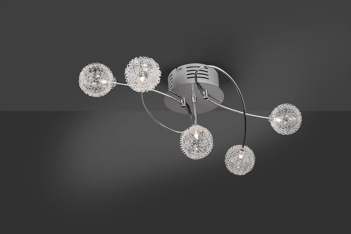 leuchten direkt deckenleuchte 5 flammig bubblz bewertungen. Black Bedroom Furniture Sets. Home Design Ideas