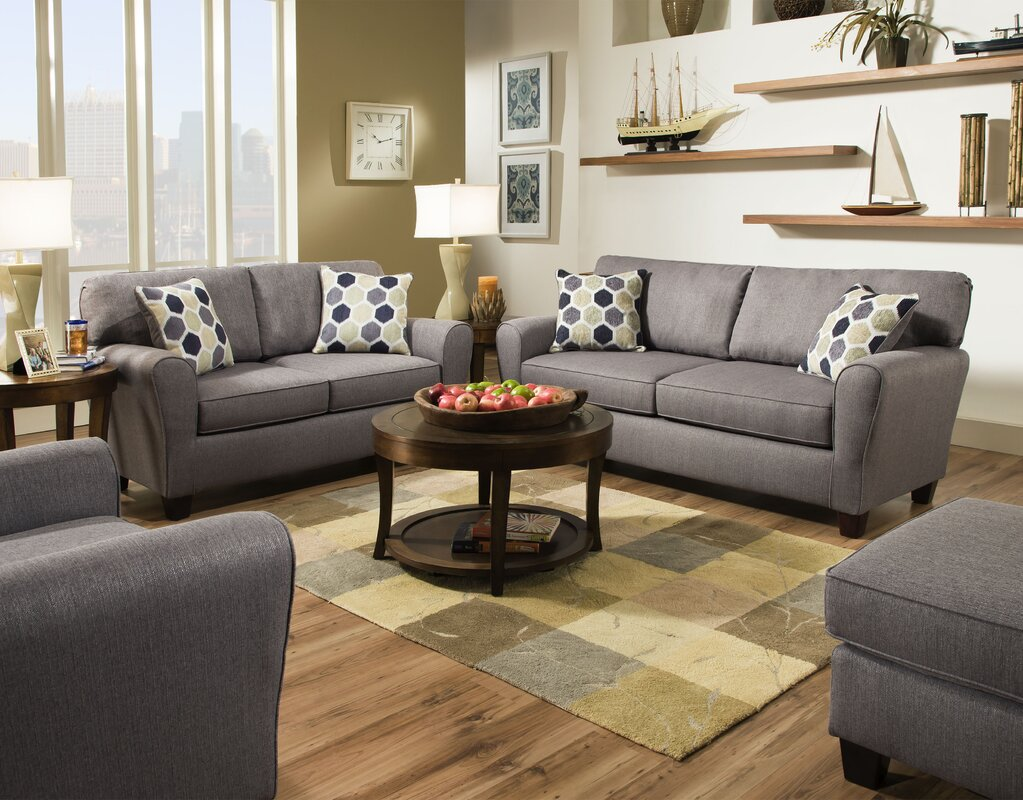 Andover Mills Calloway Configurable Living Room Set Reviews