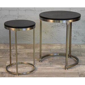 Colona 2 Piece Nesting Tables by Brayden Studio