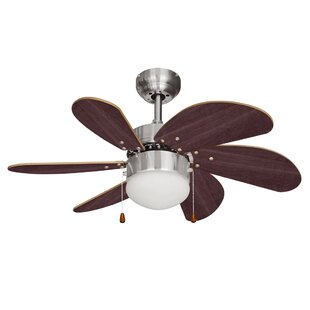 Ceiling fans remote control with lights wayfair 76cm typhoon 6 blade ceiling fan aloadofball Images