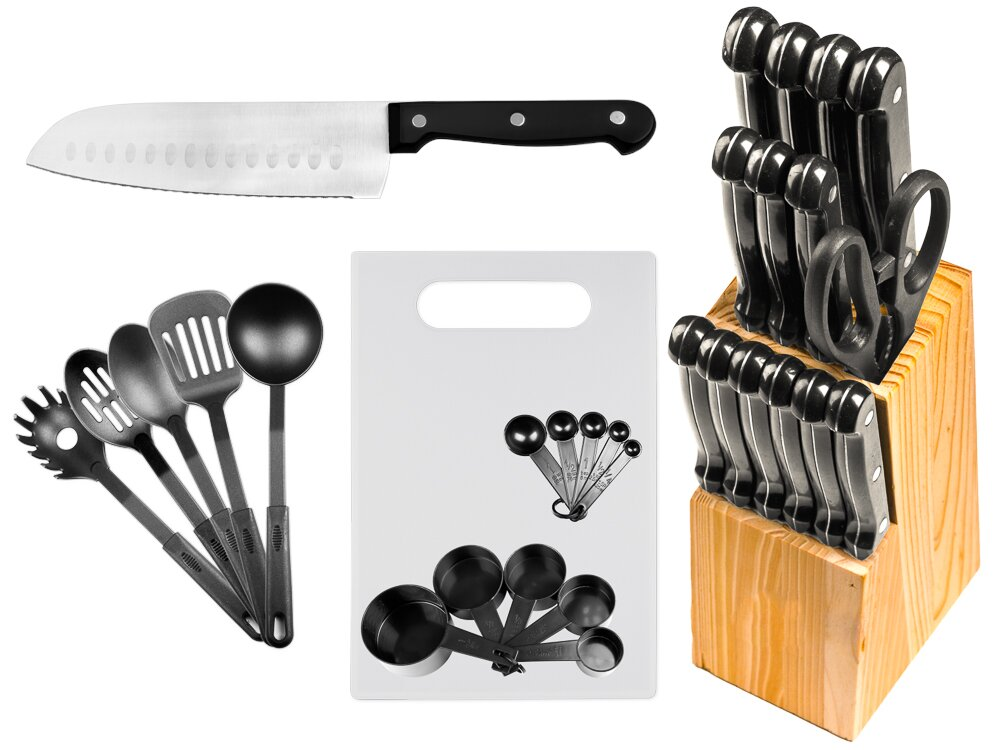 Imperial Home 29 Piece Stainless Steel Kitchen Knife Set Reviews