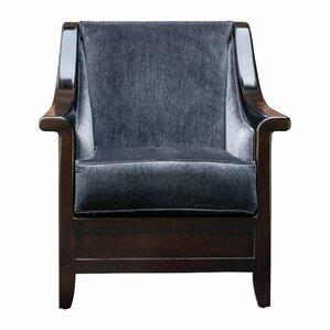 Rhonda Steel Armchair by Corrigan Studio