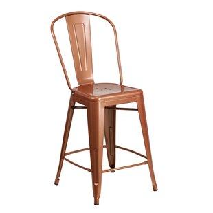 counter 24 26 patio bar stools you ll love wayfair