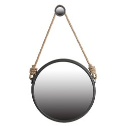 Round Wall Mirror laurel foundry modern farmhouse fanny round wall mirror & reviews