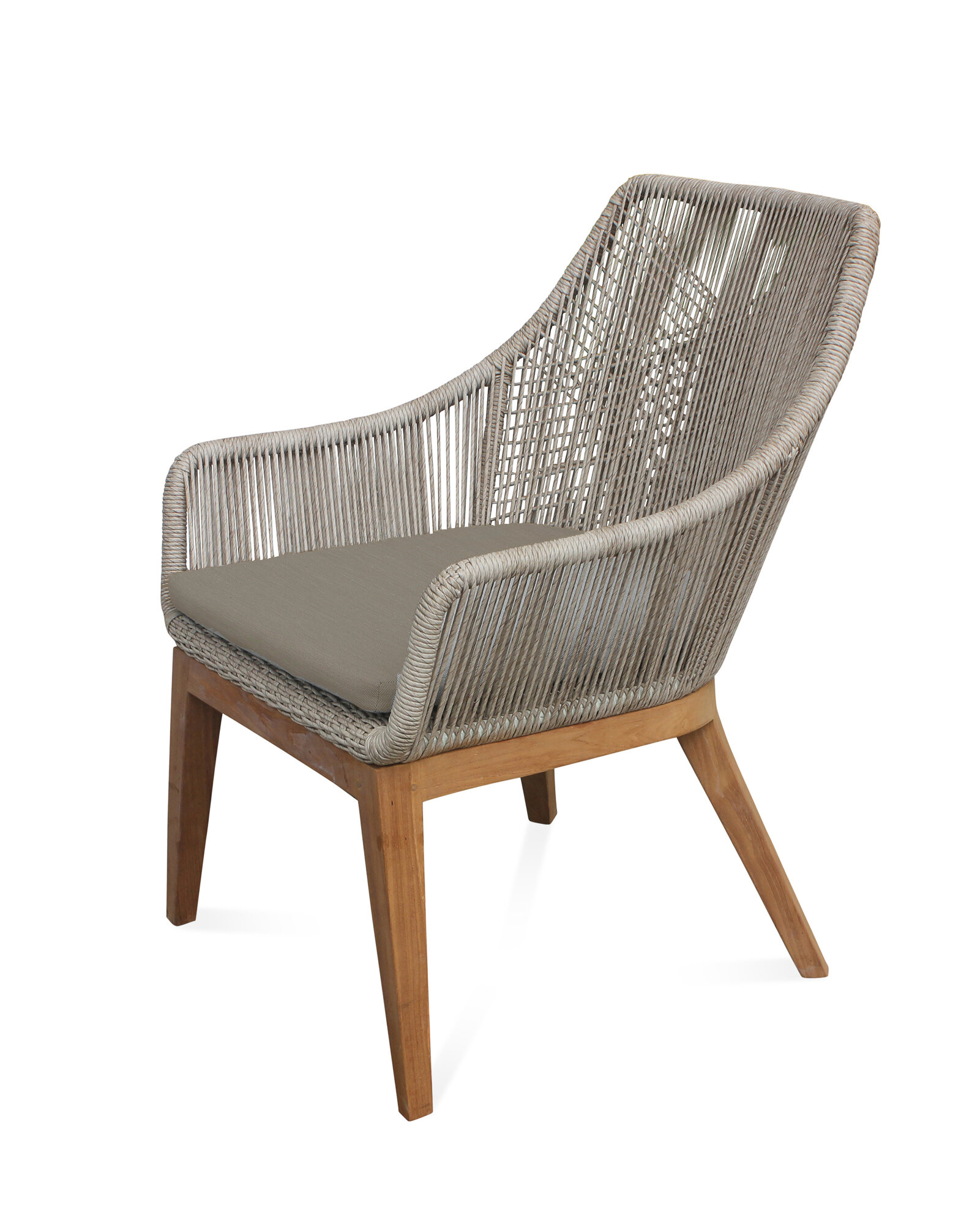 bungalow rose judith teak patio chair with cushion wayfair rh wayfair com teak patio chairs discount teak patio lounge chairs