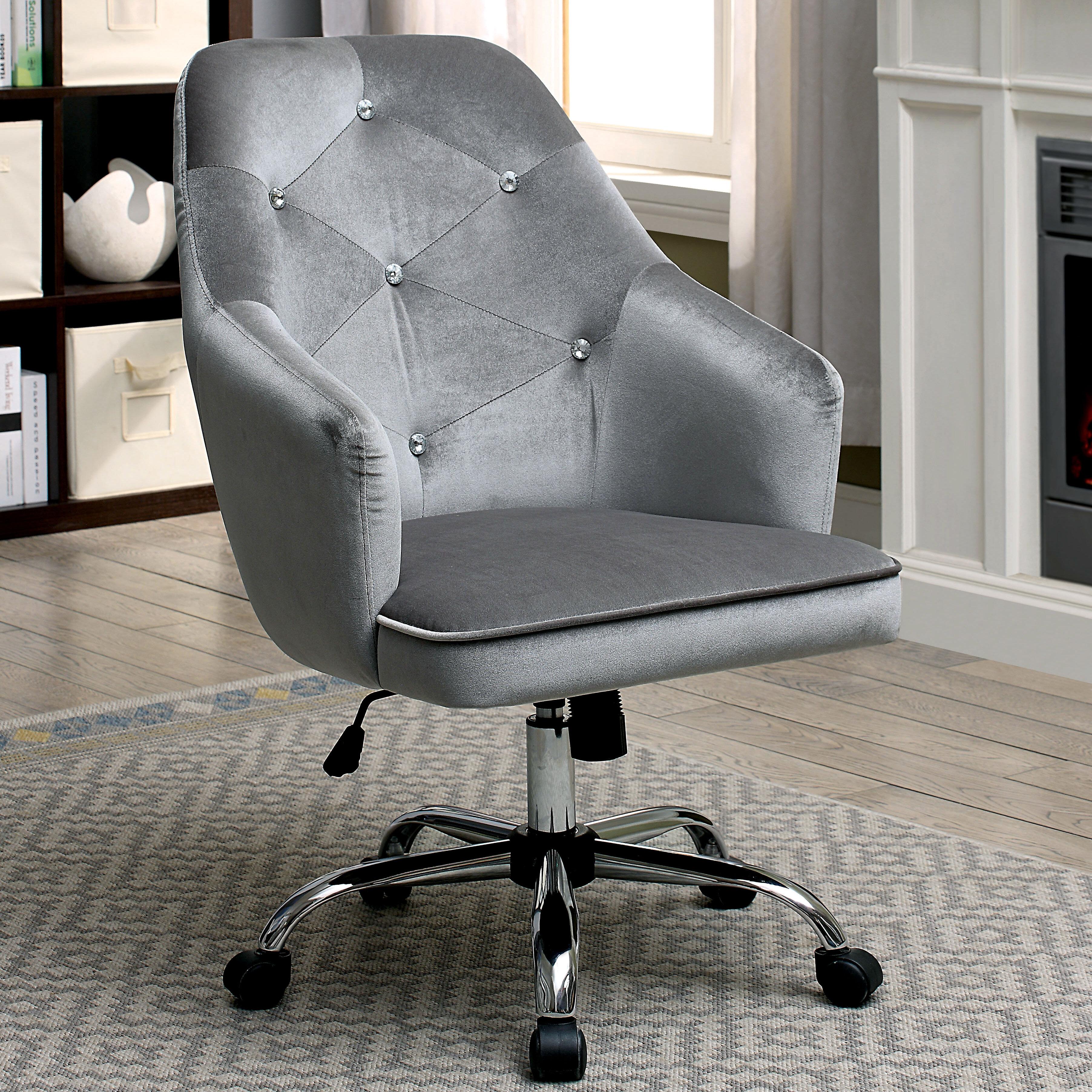 Everly Quinn Ethel Contemporary Office Mid Back Executive Chair U0026 Reviews |  Wayfair