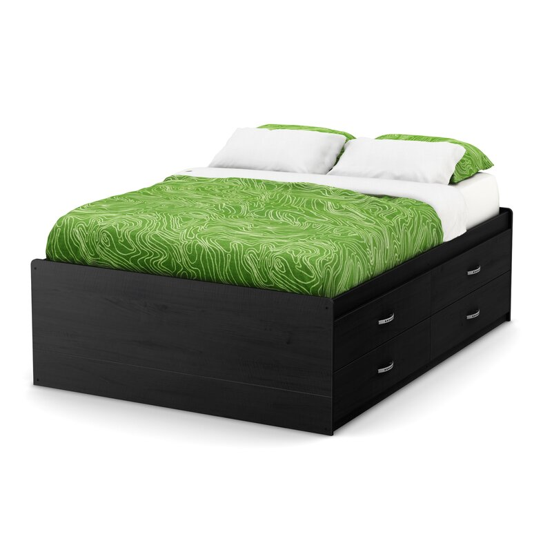 Marvelous South Shore Lazer Captain Full Bed With Drawers U0026 Reviews | Wayfair