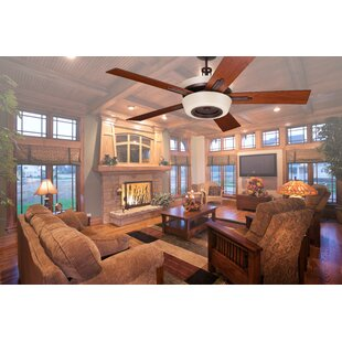 Weathered grey ceiling fan wayfair 62 tall 5 blade ceiling fan aloadofball Choice Image