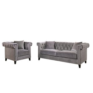 Vianna 5 Piece Living Room Set by Willa Arlo Interiors