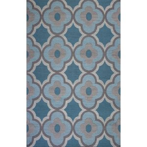 Sealy Filigree Gray/Blue Area Rug