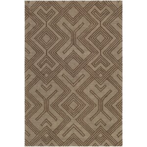 Congo Hill Hand-Tufted Chocolate/Brown Area Rug