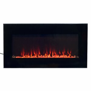 Arlo LED Wall Mount Electric Fireplace by Wa..