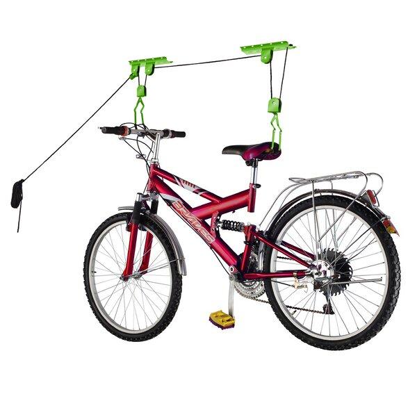 Bike Lane Bike Garage Storage Lift Bike Hoist Ceiling Mounted Bike Rack &  Reviews | Wayfair