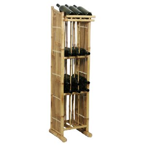 Porter 39 Bottle Floor Wine Rack by Bay Isle Home