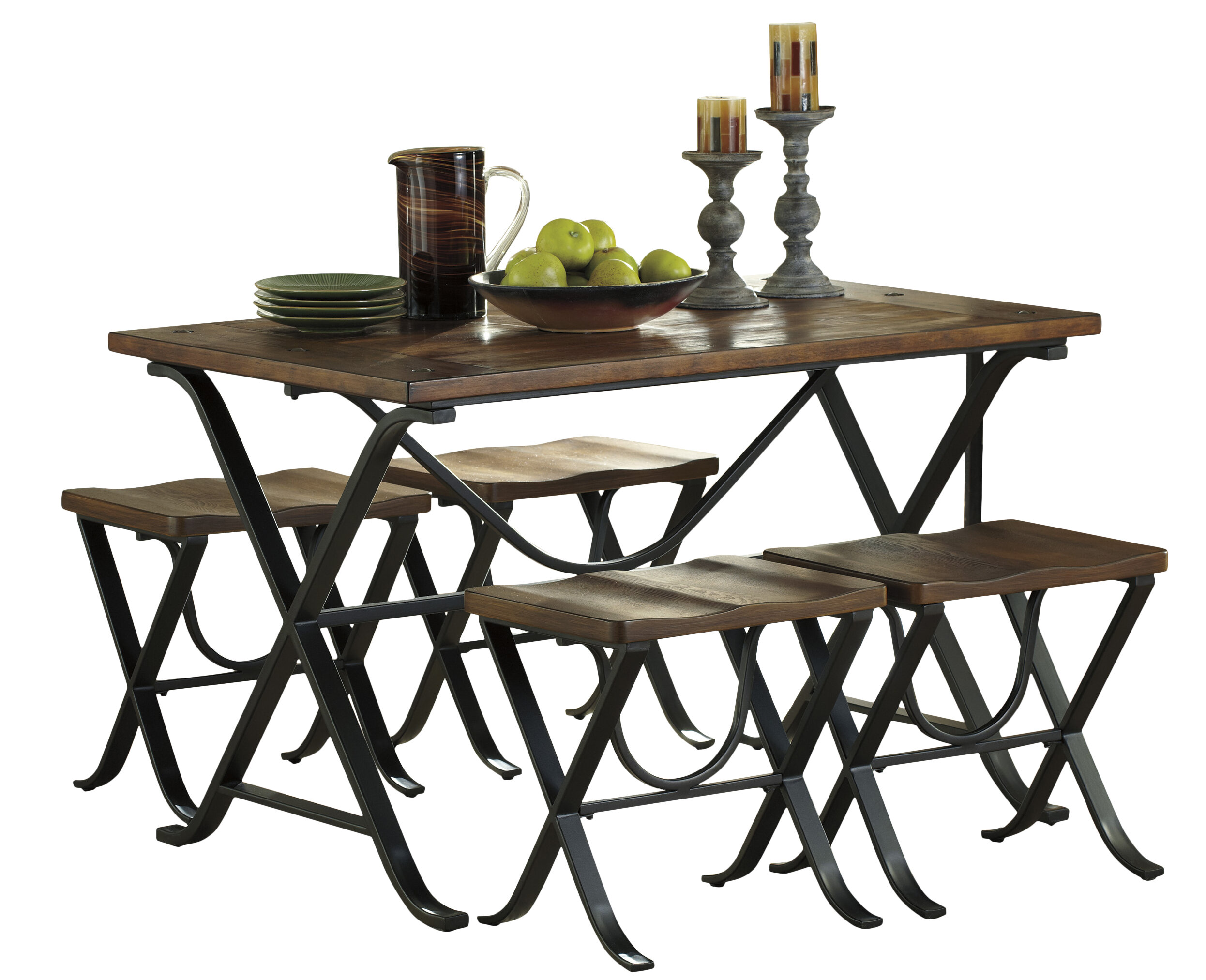 Aguiar 5 piece dining set reviews joss main