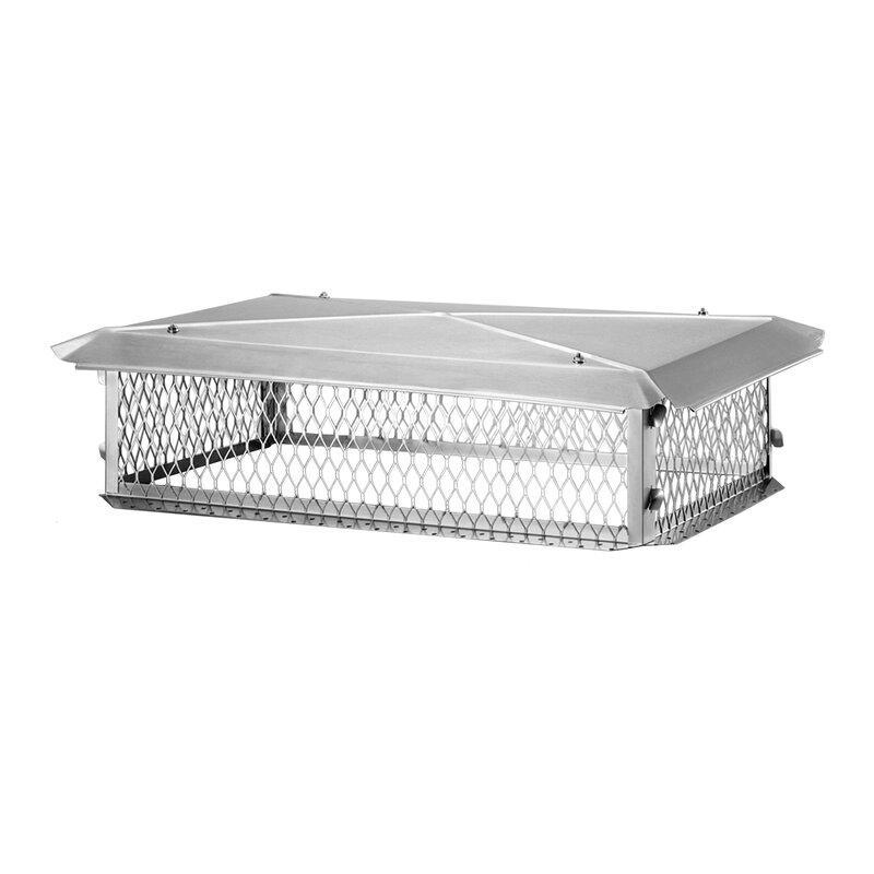 Shelter Stainless Steel Multi Flue Chimney Cap Reviews