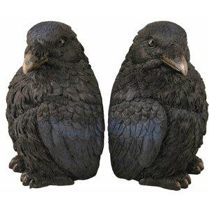 Corvus Bookends (Set of 2)