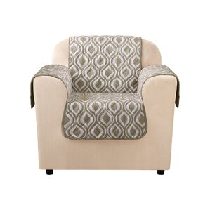 Furniture Flair Flash Box Cushion Armchair Slipcover by Sure Fit
