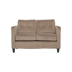 Serta Upholstery Cypert Loveseat by Mercury Row