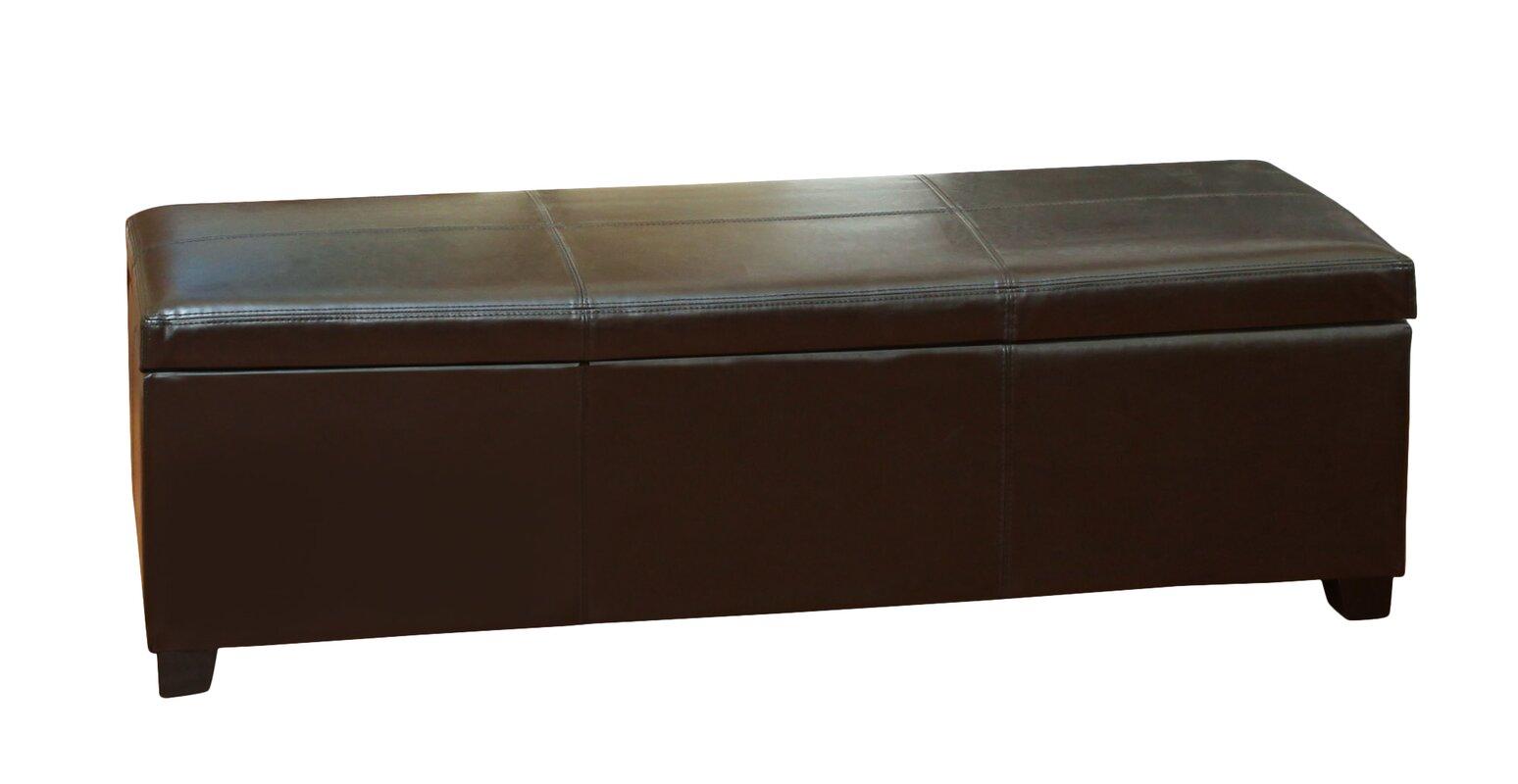 Home Loft Concepts Lind Storage Ottoman Amp Reviews Wayfair