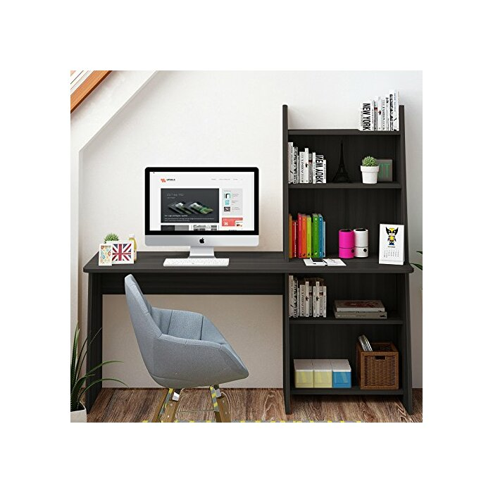 computer desk imagination above with most workstation glass wide hutch shelf beautiful shelves