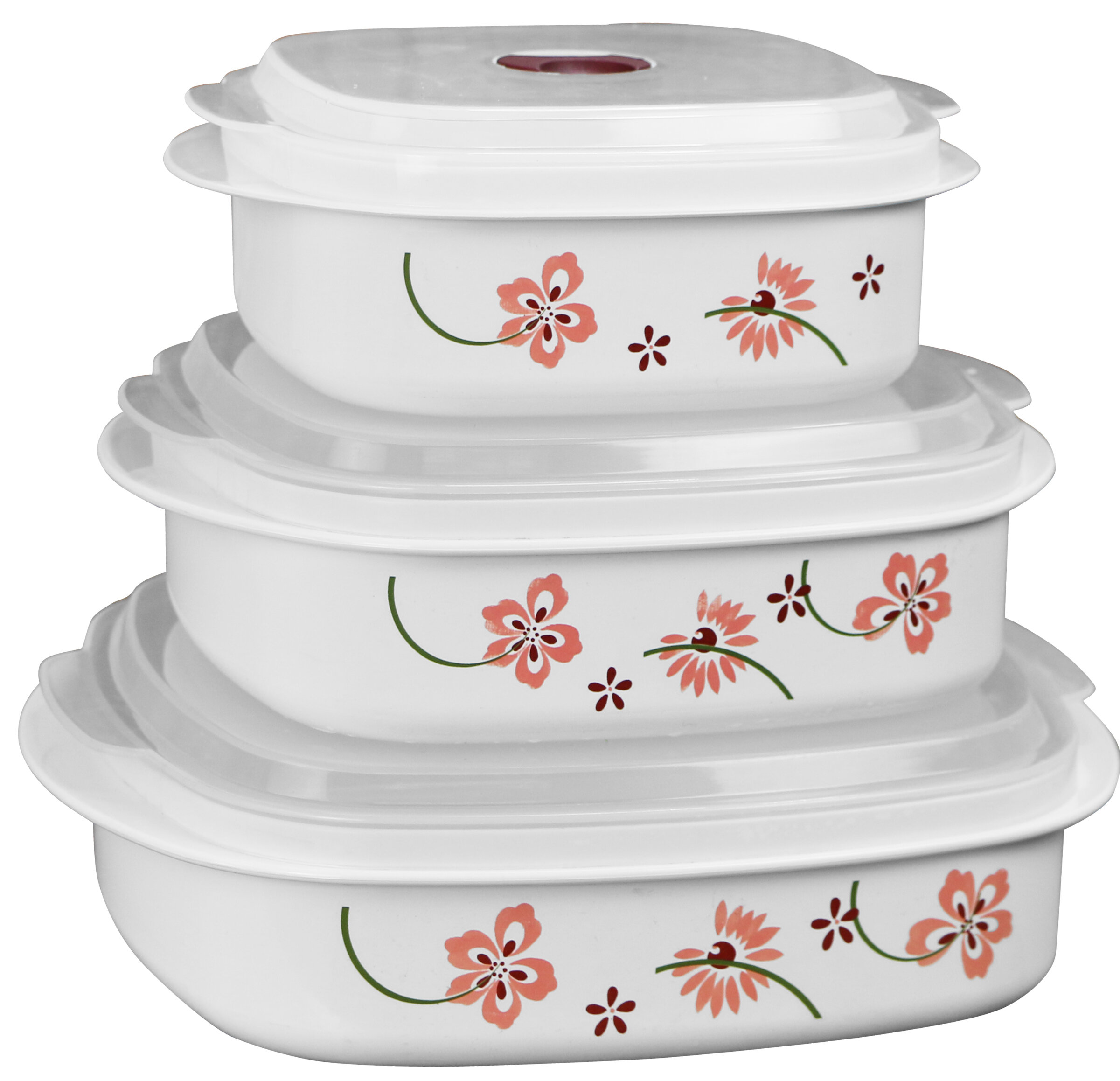 Corelle Microwave Cookware 3 Container Food Storage Set U0026 Reviews | Wayfair