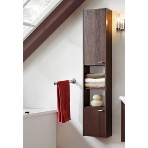 wall hung tall bathroom cabinets bathroom storage wayfair co uk 28061