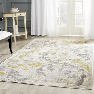 Maritza Fl Ivory Light Grey Indoor Outdoor Area Rug