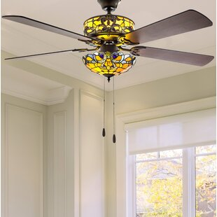 gold ceiling fan with light designer ceiling quickview gold ceiling fans youll love wayfair