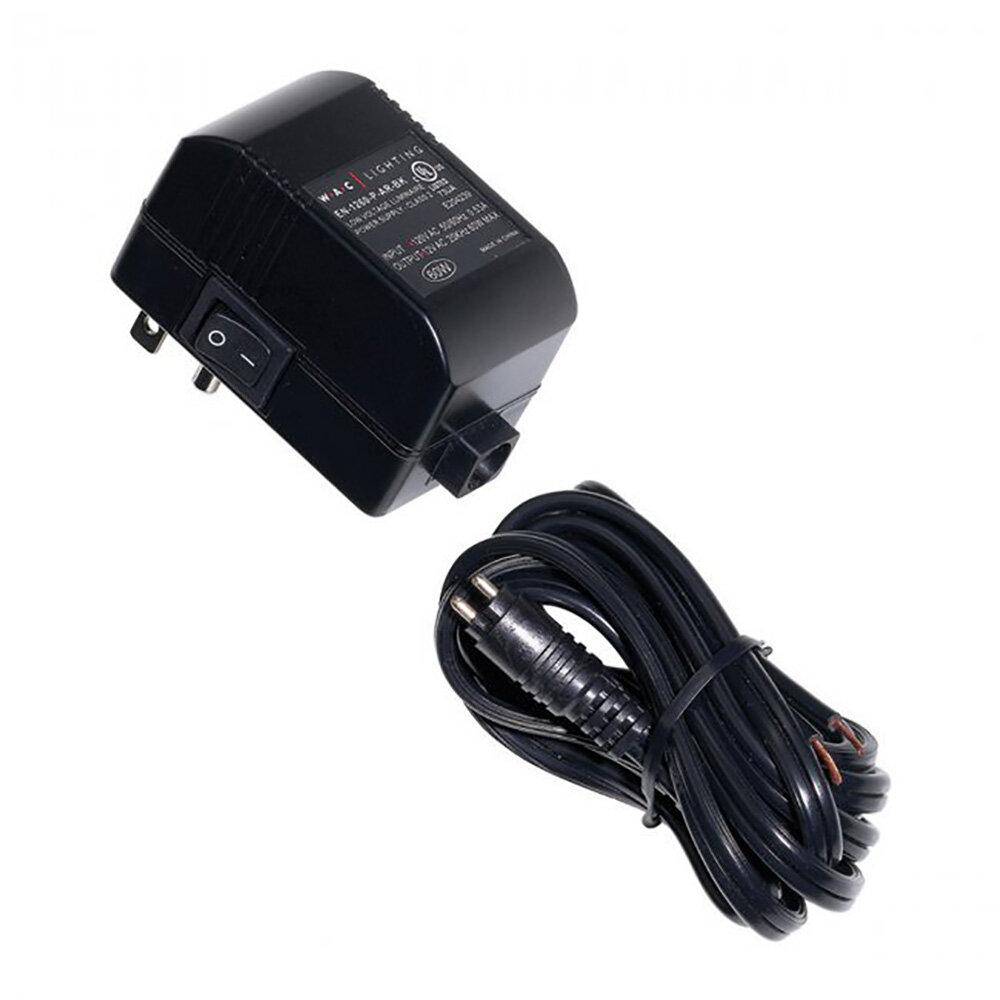 en-1260-p-ar-bk class ii mini 60w 12v electronic transformer