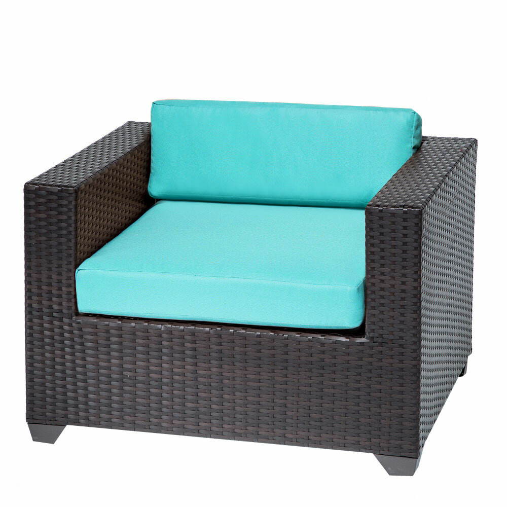 TK Classics Belle Club Chair with Cushions & Reviews | Wayfair