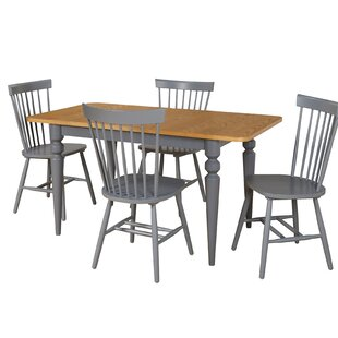Laurier 5 Piece Solid Wood Dining Set