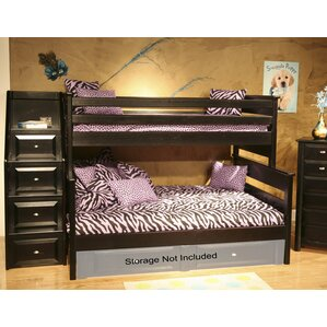 Petersen Twin Over Full Bunk Bed with ..