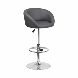 Mathew Adjustable Height Swivel Bar Stool