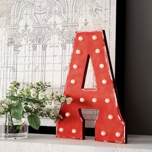 Large Lighted Marquee Letters Wayfair