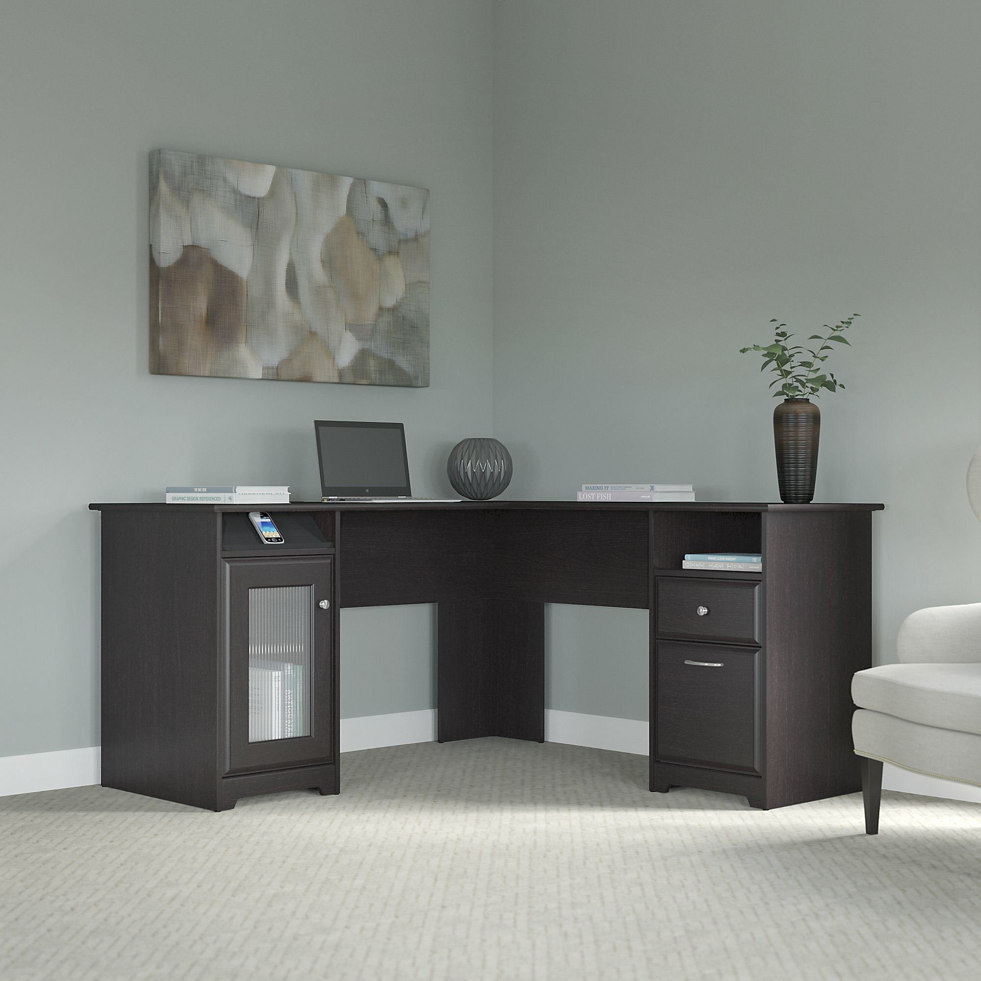 Red Barrel Studio Hillsdale L-Shaped Computer Desk & Reviews | Wayfair