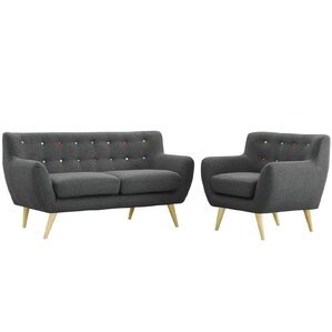 Meggie 2 Piece Living Room Set by Langley St..